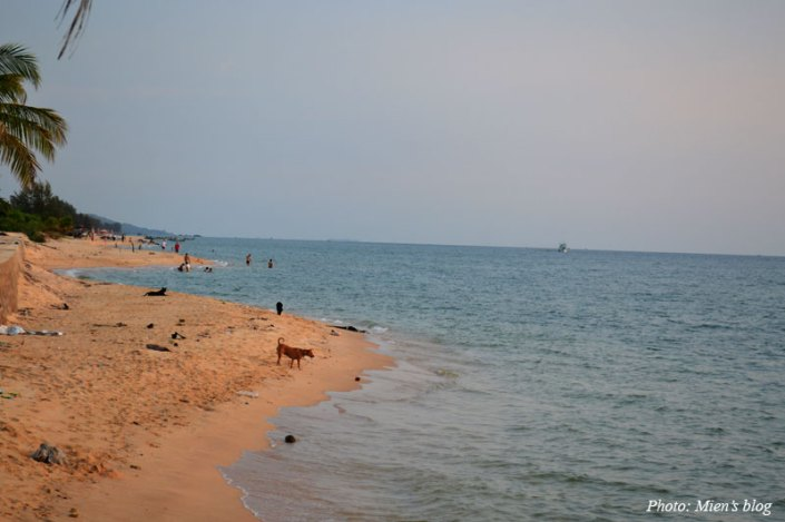 Long Beach in Phu Quoc Island, Vietnam