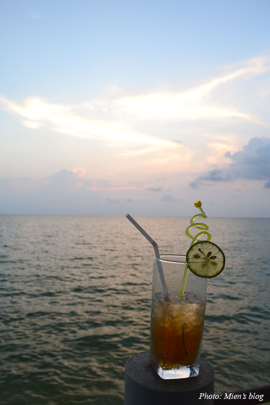 Long Island Iced Tea by Long Beach in Phu Quoc Island, Vietnam