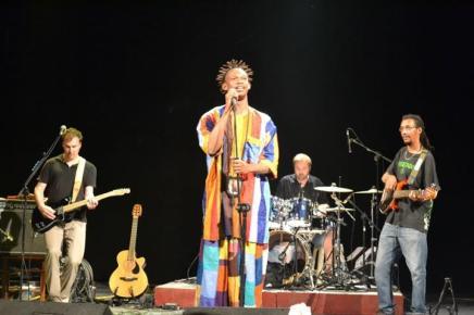 Naby reggae concert in Hanoi