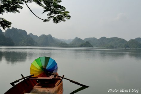 Quan Son Lake in Hanoi, Vietnam