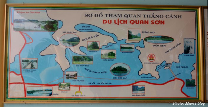 Quan Son map