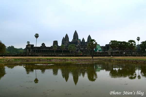 Angkor Wat close-up