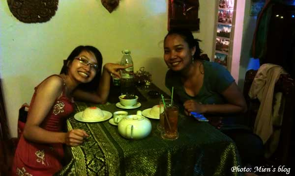 Reunited with Kounila in Phnom Penh