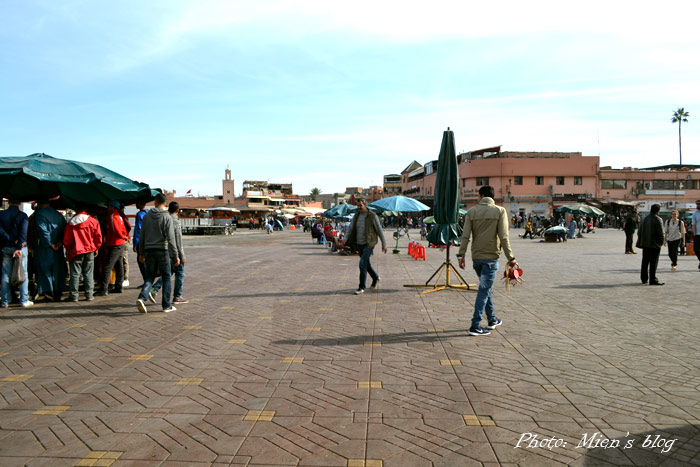 Jemaa el Fna in the day