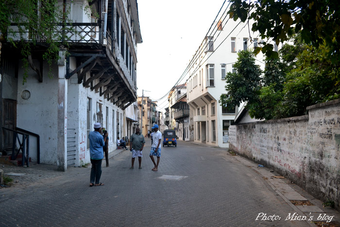 The old town of Mombasa